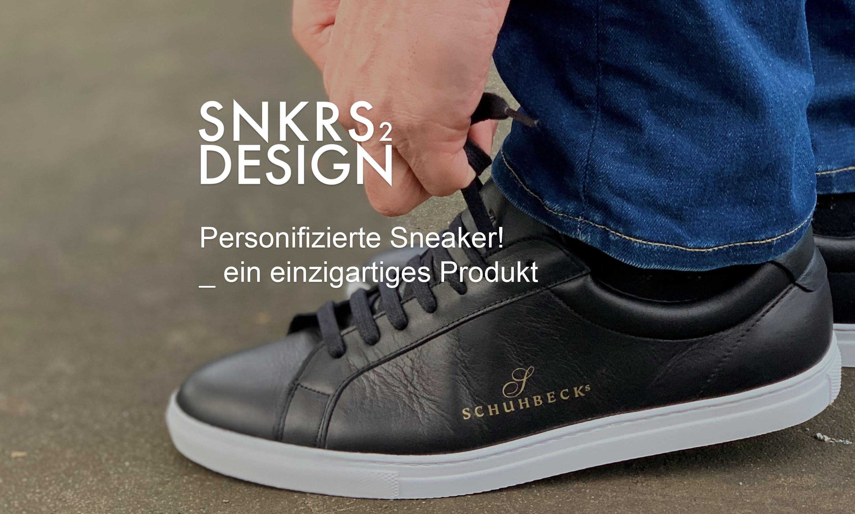 Schuhbecks Team-Sneaker für die Sterne Gastronomie
